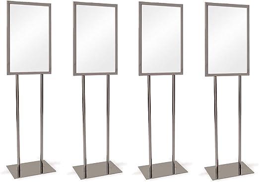 Amazon.com: Econoco Soporte de metal para carteles, soporte ...