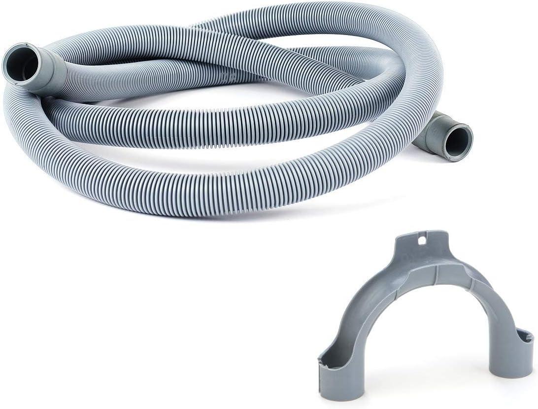 DREHFLEX–Tubo de desagüe para lavadoras y/o lavavajillas, longitud 3,5m