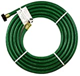 """: Swan Short Garden Hose, 15 ft with 5/8"""" diameter - Garden hose reel connector"""