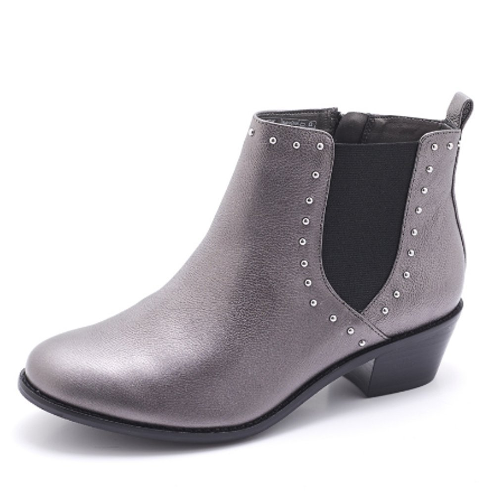 Vionic Women's Lexi Bootie B01N0T9UK1 6 B(M) US|Pewter