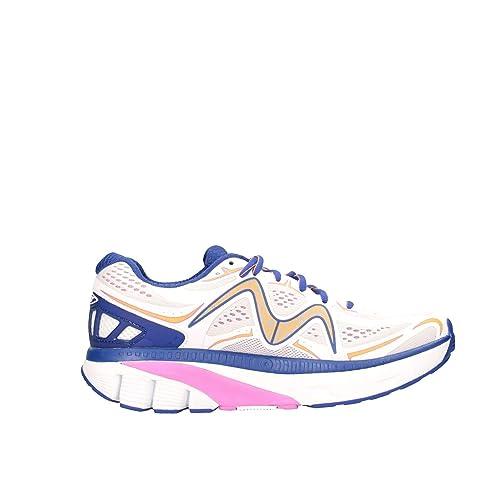Mbt Mujer Gtwwpbianco Blanco Fibras Sintéticas Zapatillas: Amazon.es: Zapatos y complementos