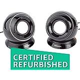 (CERTIFIED REFURBISHED) Lenovo M0520 Multimedia Speakers (Black)