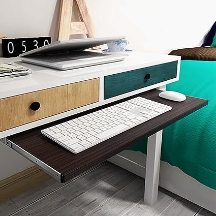 Swell Under Desk Comfort Keyboard Drawer Platforms Furniture Office Keyboard Tray Drawers Slide Fashion Computer Table Rail Rack 2811 Teak Home Interior And Landscaping Ologienasavecom