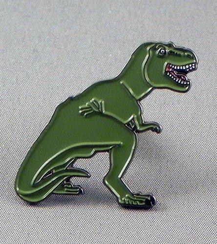 Metal Enamel Pin Badge Tyrannosaurus Rex T.Rex Dinosaur Prehistoric Animal