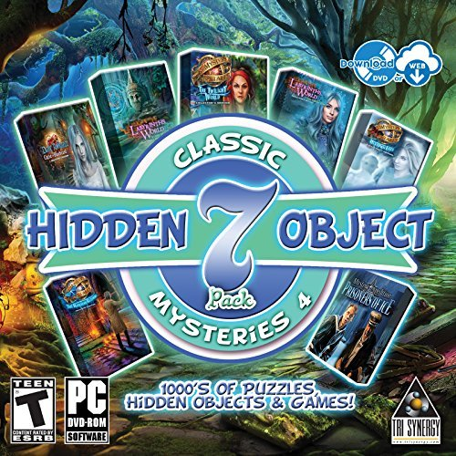Hidden Object Classic Mysteries IV - 7 Great Games - 6 Collectors Editions Included (Hidden Objects Computer Games)