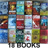 Jack Reacher Series Complete Set (BOOKS 1-18) : 1. Killing Floor 2. Die Trying 3. Tripwire 4. Running Blind 5. Echo Burning 6. Without Fail 7. Persuader 8. The Enemy 9. One Shot 10. The Hard Way 11. Bad Luck and Trouble 12. Nothing to Lose ...