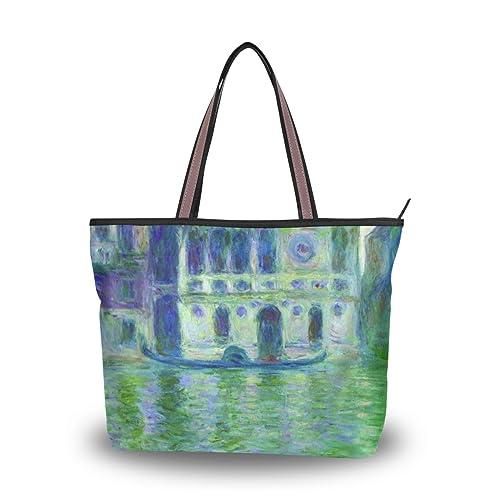 Amazon.com: wihve Monet s Dario Palace Venice para mujer ...