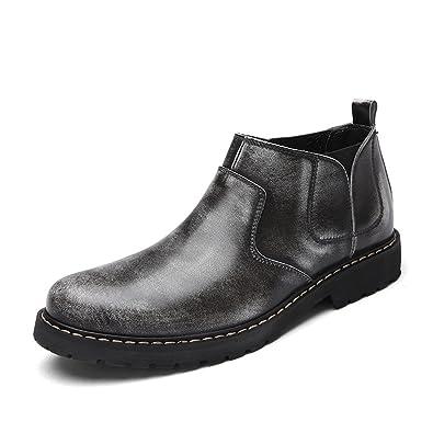 En Botas 2018 Fashion Piel Botines Men Mskay Hombre Para Pu Shoes 8W4qtxwp
