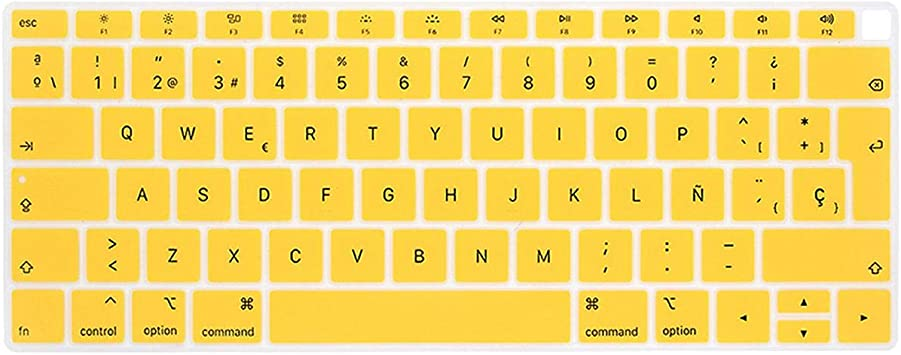 EU-Enter - Funda protectora para teclado de MacBook Air 13 ...