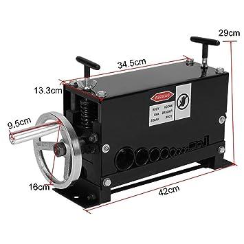 Profesional Manual Máquina para Pelar Cables Máquina Pelacables Máquina de Desmontaje de Cables Estriptista de Cobre Chatarra 38mm/1.5