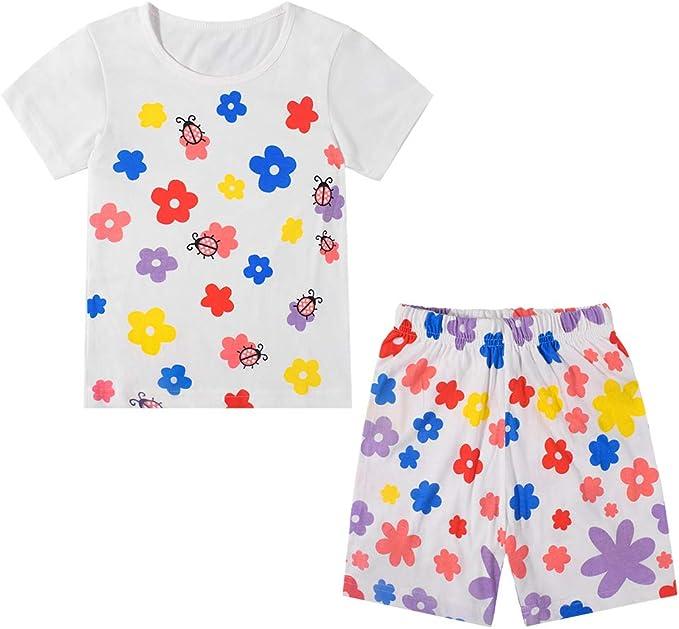 Nwada Ropa Bebe Niña Conjunto Camiseta y Pantalones Cortos Disfraz ...