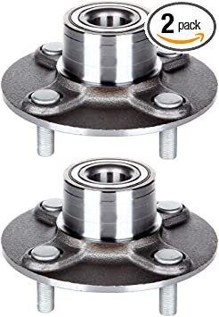 Prime Choice Auto Parts HB612305PR Rear Pair 2 Wheel Hub Bearing Assemblies 4 Stud