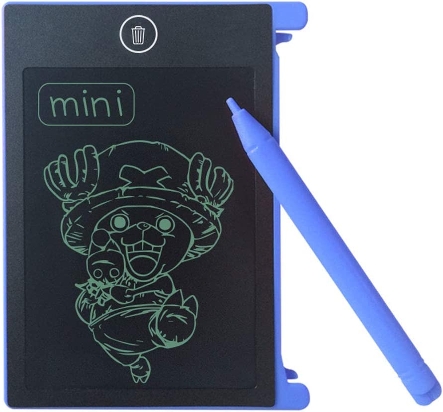 MeterMall New LCD Writing Tablet Digital Drawing Electronic Handwriting Pad Message Graphics Board 4.4 inch Pink