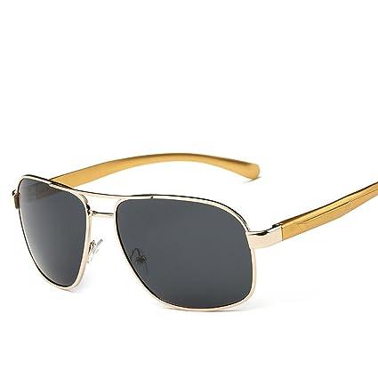 3b4ebf4f6b1f2 B dressy sportinggoods Polarized Sunglasses For Men Rectangle Metal Frame  Retro Sun Glasses,1.