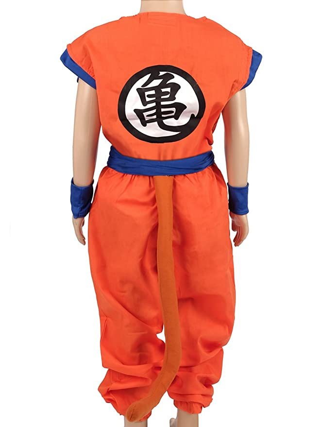 Dragon Ball Children Costume, Son Gokus Training Suit at Master Roshis