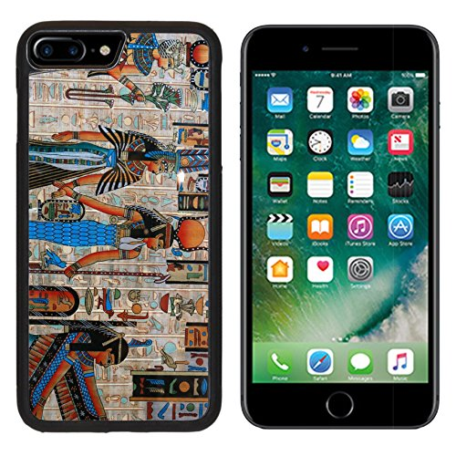 MSD Premium Apple iPhone 7 Plus Aluminum Backplate Bumper Snap Case IMAGE ID: 4684070 Egyptian (Major Egyptian Gods)