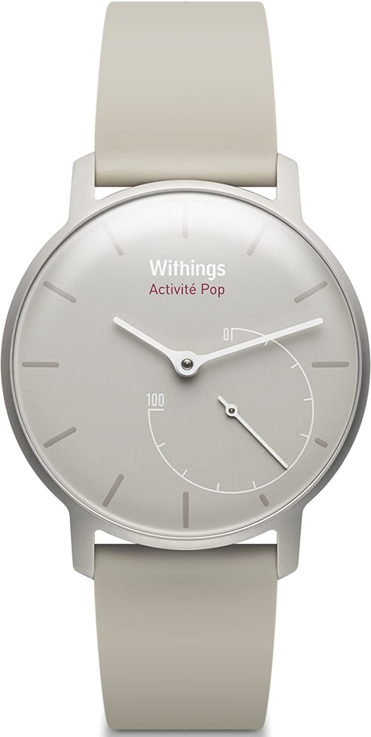 Withings Activité Pop - Activity and Sleep Tracking Watch- Wild Sand
