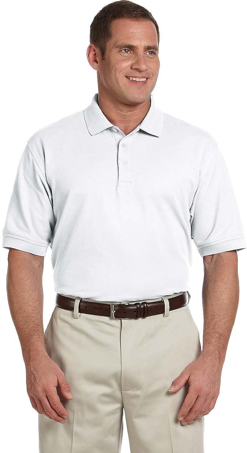 Devon Jones Classic Tall Pima Pique Short Sleeve Polo Shirt D100t