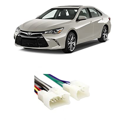 amazon com fits toyota camry 1992 2015 factory stereo toimage unavailable image not available for color fits toyota camry 1992 2015 factory stereo to aftermarket radio harness adapter