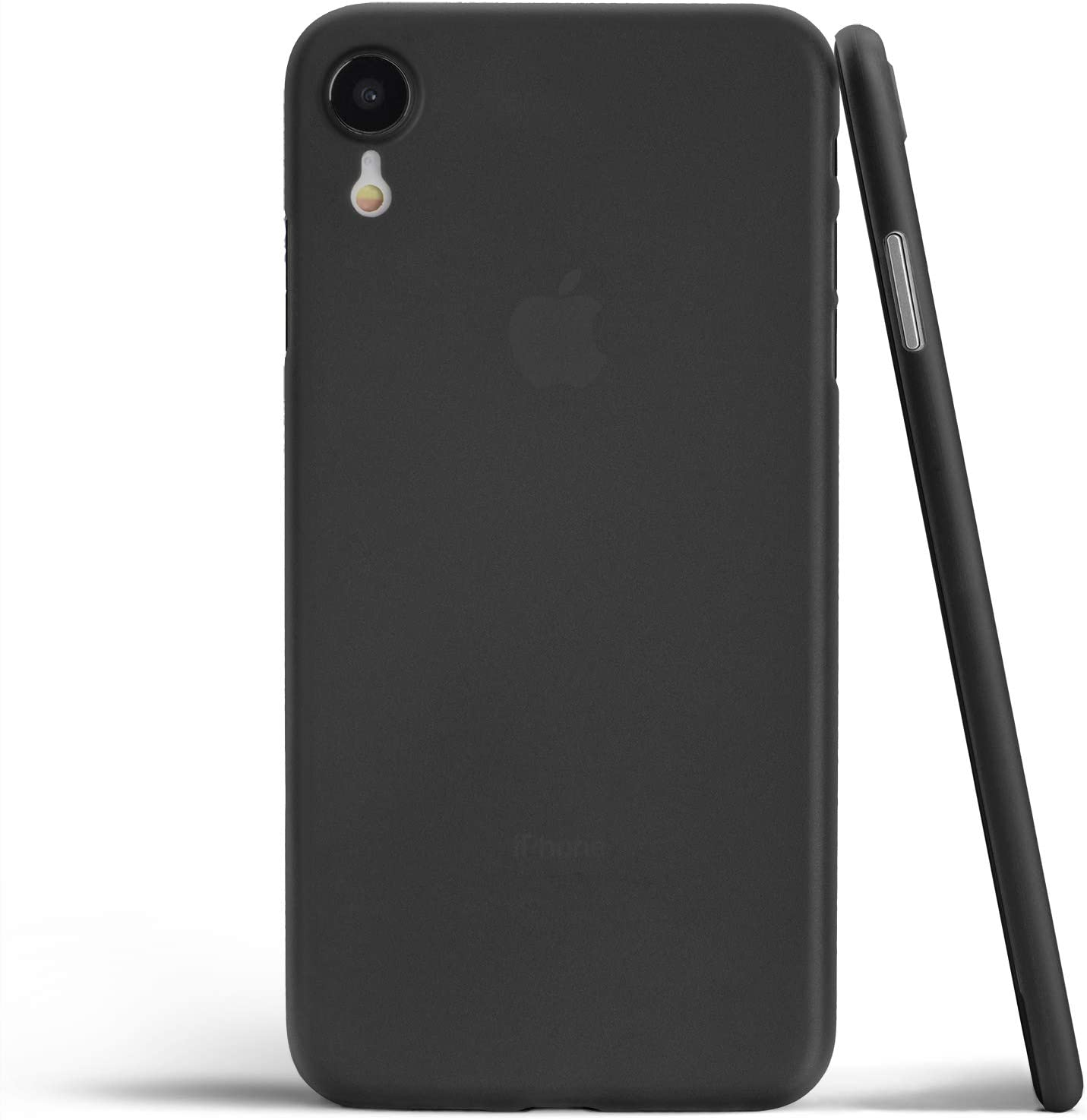 totallee Thin iPhone XR Case, Thinnest Cover Ultra Slim Minimal - for Apple iPhone XR (2018) (Frosted Black)