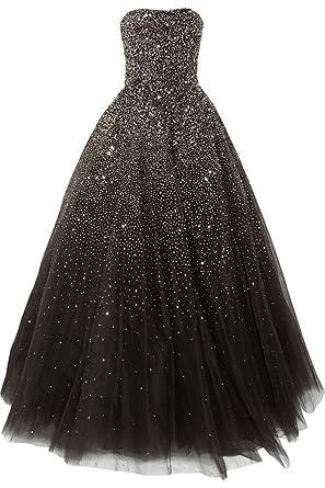 2484bcaedfd Lovelybride Amazing Strapless Beaded Prom Dress Long Formal Evening Gowns