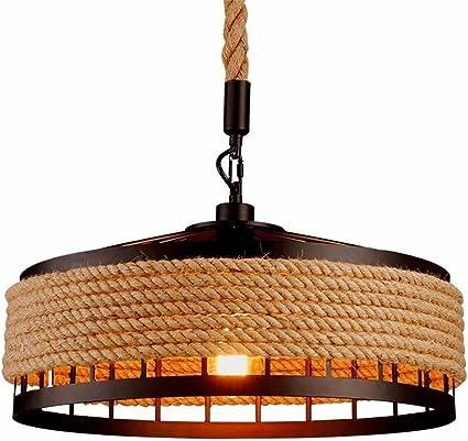 Luz de techo, Retro Hierro Industrial Vintage Loft luz de techo ...
