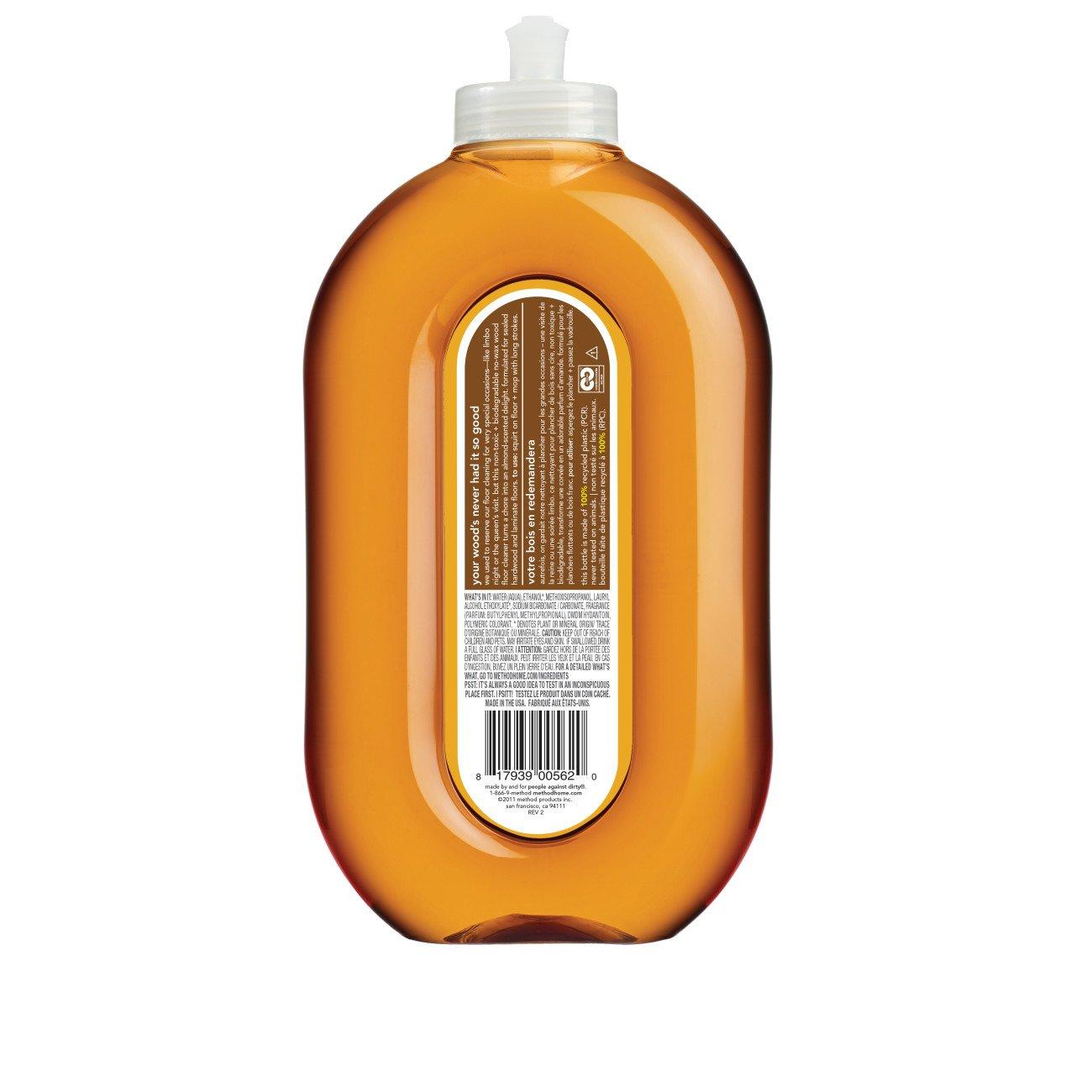 Method Squirt + Mop Hardwood Floor Cleaner, Almond, 25 Ounce (Pack 6) by Method (Image #4)