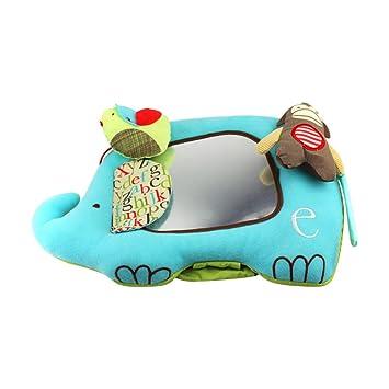 Amazon.com: Pueri Baby Mirror Toy Activity Floor Mirror Soft ...