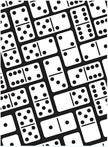 Darice Embossing Folder, 4.25 x 5.75, Dominoes Background
