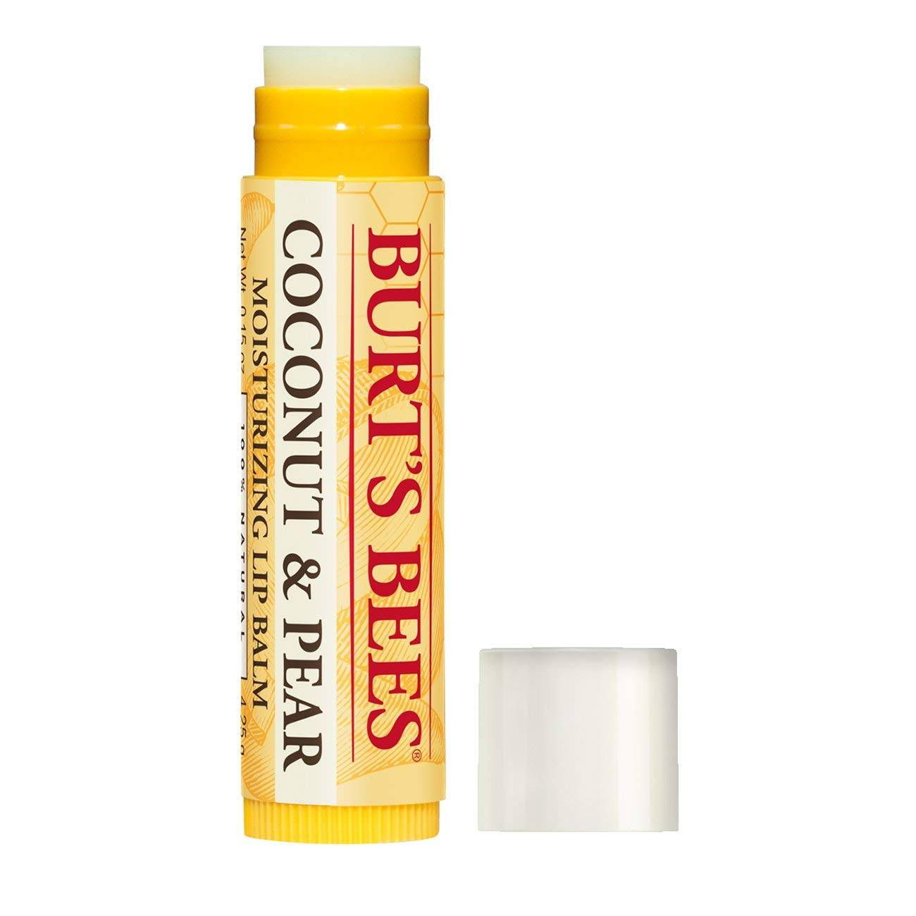 Burts Bees Lip Balm with Coconut and Pear - 0.15 oz by Burts Bees: Amazon.es: Salud y cuidado personal