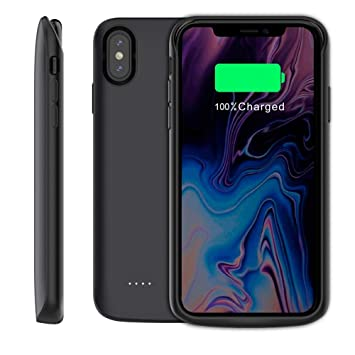 super popular bbf7d cad24 iPhone XR Battery Case,6000mAh Portable Rechargeable Battery Pack Charger  Case for Apple iPhone XR...