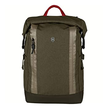 67d8622ed Amazon.com: Victorinox Altmont Classic Rolltop Laptop Backpack, Olive One  Size