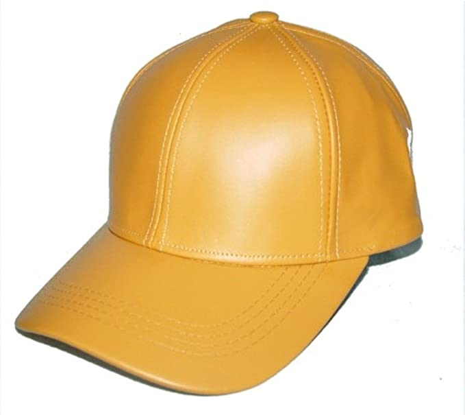 yellow baseball hat amazon cap uk leather size fit color men clothing store caps suppliers