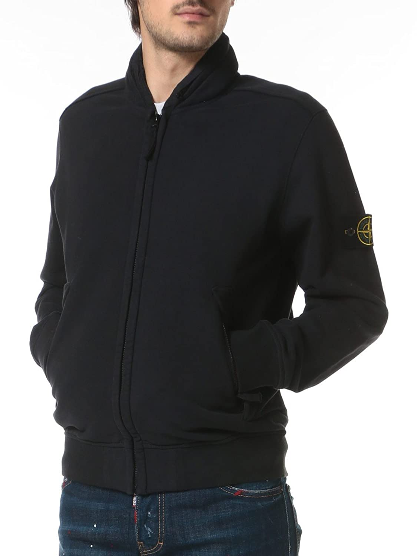 (ストーンアイランド) STONE ISLAND 綿100% 袖ロゴワッペン フード付き フルジップ ジップポケット 長袖 パーカー [【SI671563020】] [並行輸入品] B077993NVC  ダークグレー(V0065) 1XL