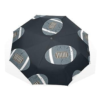 GUKENZ - Paraguas de Viaje con diseño de balones de fútbol ...