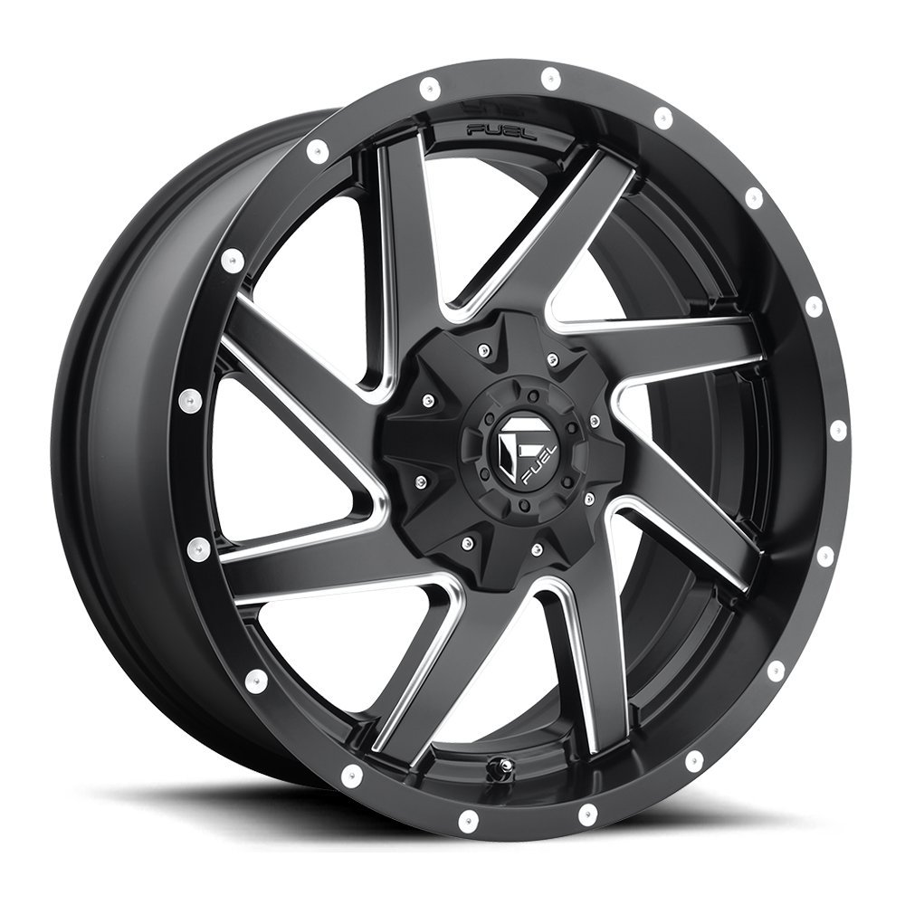 Fuel Offroad Renegade Black Wheel (2010''/55.5inches -18mm Offset) by Fuel (Image #1)