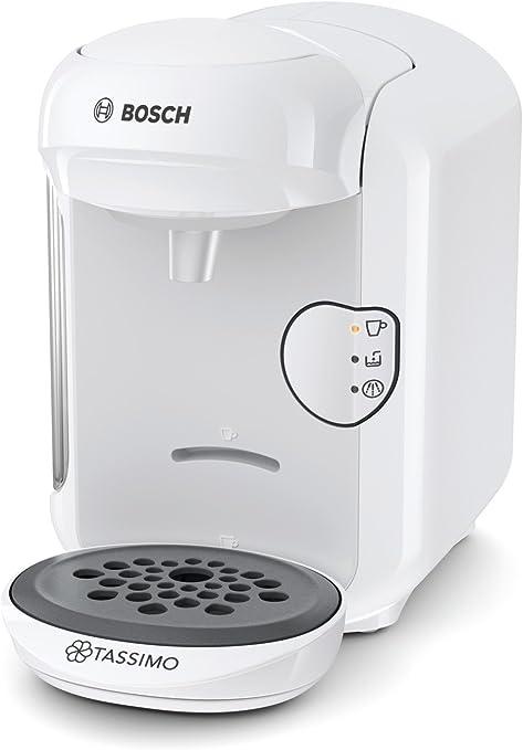 Bosch TAS1404 Tassimo Vivy 2 - Cafetera Multibebidas Automática de Cápsulas, Diseño Compacto, color Blanco, Única: Bosch: Amazon.es: Hogar