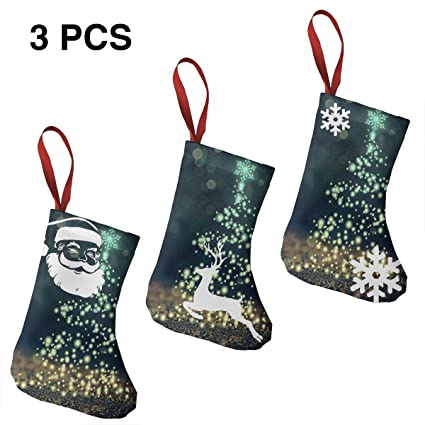 Amazon Com Christmas Tree Sparkles Bokeh 7 5 Mini Christmas