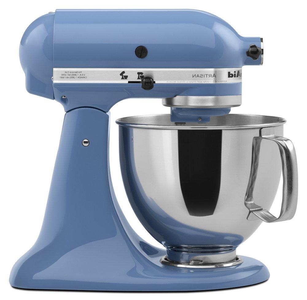 KitchenAid Stand Mixer tilt 5-Quart RRk150MB Misty Blue Artisan
