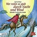 Wer reitet so spät durch Nacht und Wind: Balladen für Kinder erzählt Hörbuch von Sylvia Schopf Gesprochen von: Hartmut Stanke