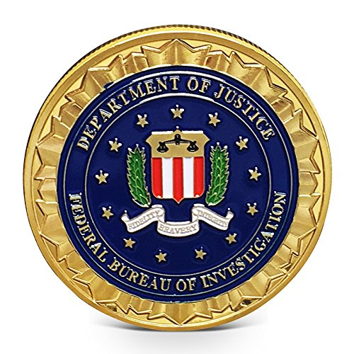Imachine FBI Challenge Coin