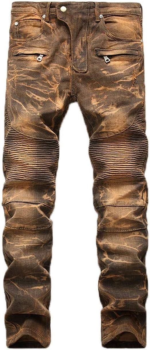 パンツ メンズ パンツ ジーンズ ダメージジーンズ メンズ スキニーパンツ 美脚 細身