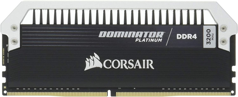 Corsair Dominator Platinum 16GB (2x8GB) DDR4 3200MHz C16 Desktop Memory