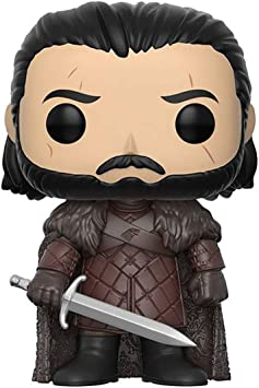 Horror-Shop Juego de Tronos Jon Nieve Funko Pop! Figura: Amazon.es ...