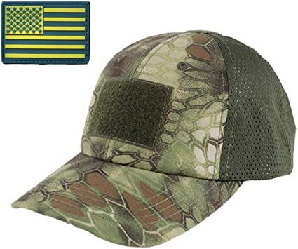Digital Camo hat special forces tactical operator cap with US flag patch