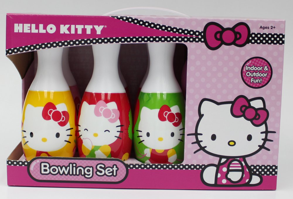 What Kids Want Hello Kitty Bowling Set