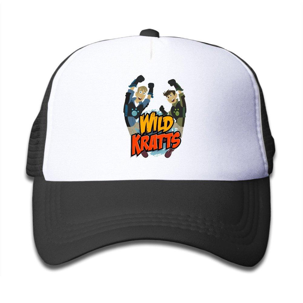 Humjerry Kids Kratts Salvajes 100/% Nailon Tapas de Malla Talla /única Ajustable Moda Estilo Tapas