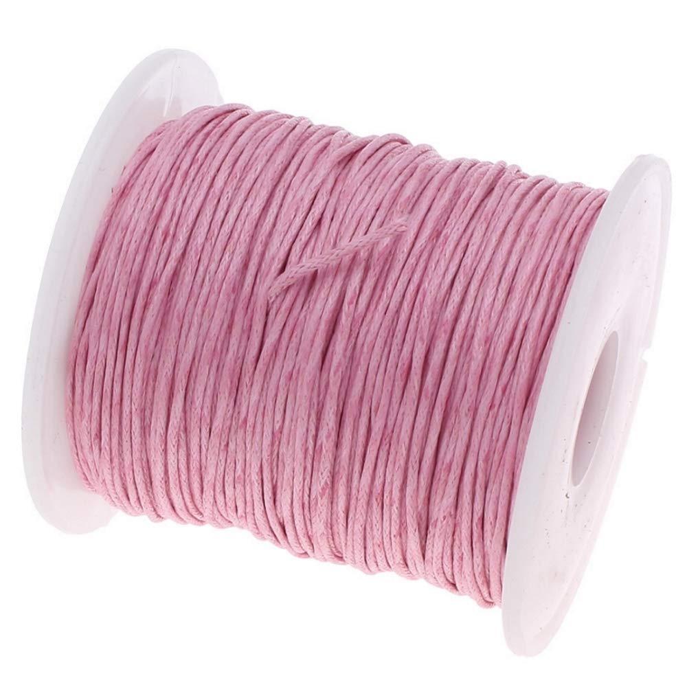 My-Bead 90m Nylonband Kordel 1mm Rot Wasserfest Nylonschnur Top Qualit/ät Schmuckherstellung basteln DIY