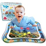 Baby Inflatable Patted Water Play Pad Tummy Time Toy Baby Prostrate Water Filled Cushion yangGradel Inflatable Water Play Mat Activity & Entertainment