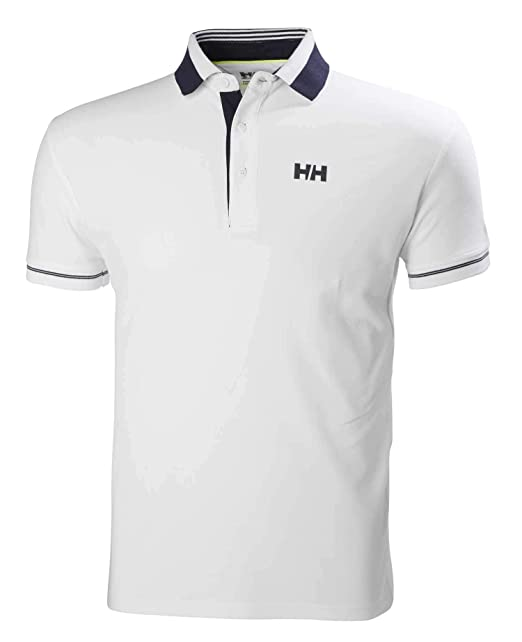 Helly Hansen HP Shore Polo, Hombre, Gris (Dark Gull Grey), S ...